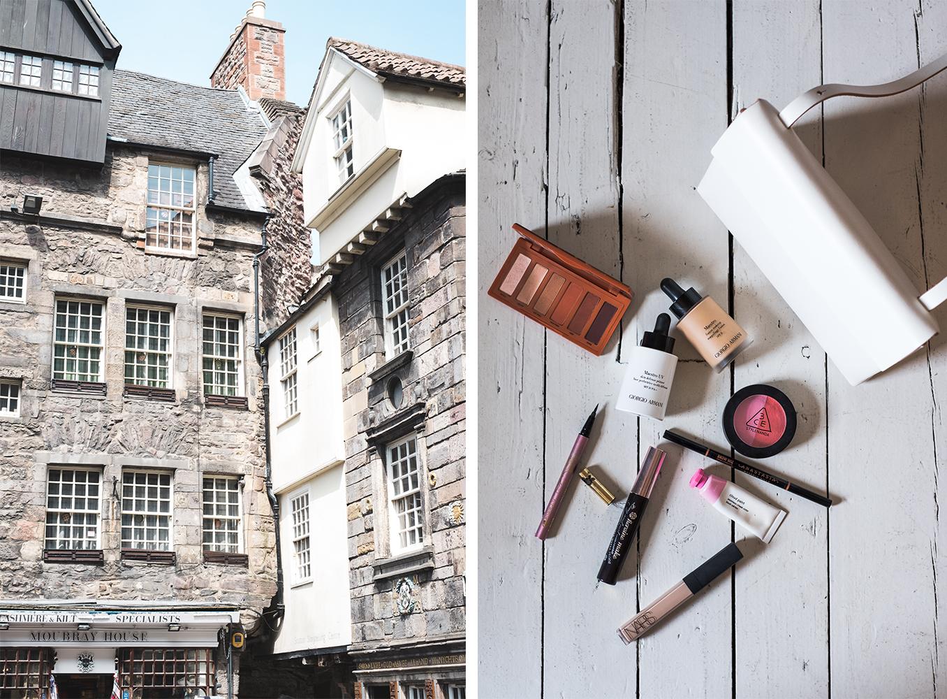 Edinburgh Wedding buildings and make up